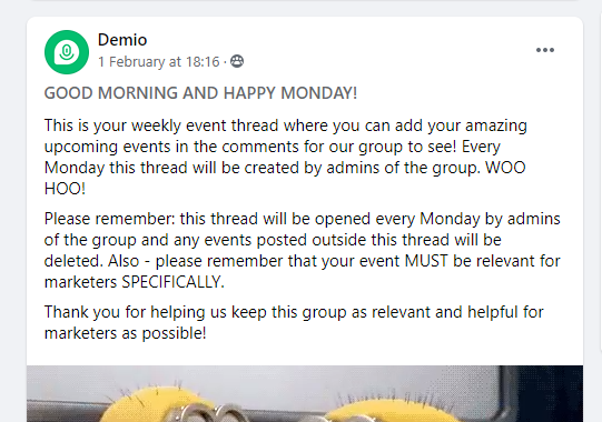 How to promote a virtual event with facebook groups
