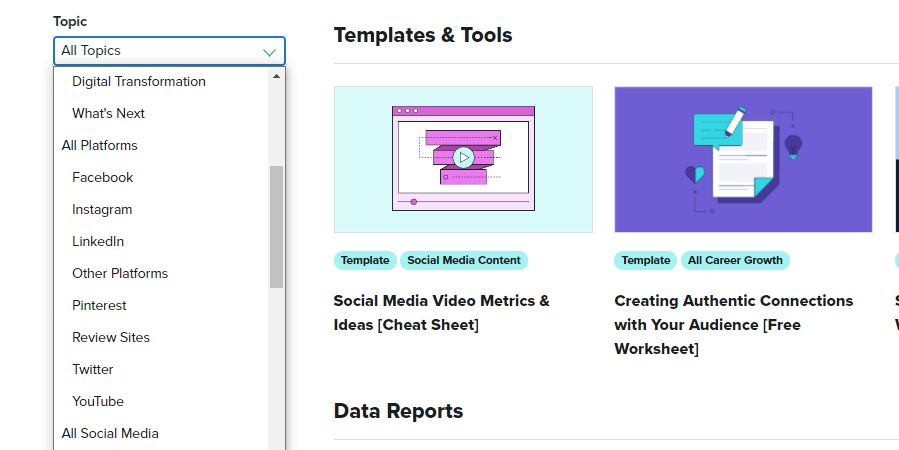 templates and tools